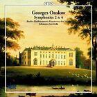 Georges Onslow: Symphonies 2 & 4 (CD, Apr-2002, CPO)
