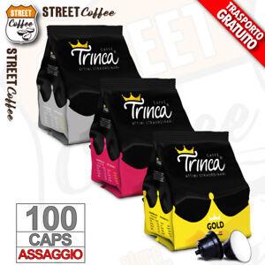 ASSAGGIO MIX 100 Cialde Capsule Caffe Nescafe Dolce Gusto Trinca Kit Degustazion
