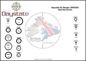 Full-Premium-Seal-Service-kit-Fits-Daystate-Air-Ranger-RWS500-New