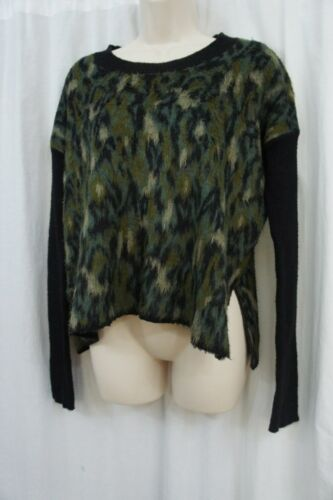 Pullover Army Rachel Shabby Roy Scoop Combo Maglione Sz L Casual Green RRvWa4qU