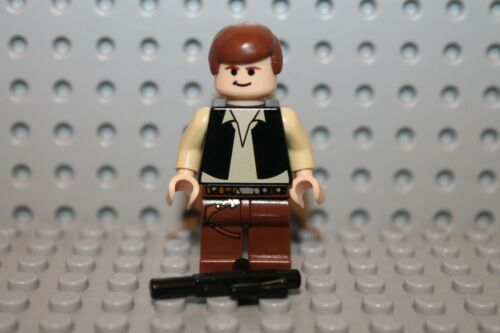 427 LEGO minifig personnage Han Solo 8038 10188 Star Wars