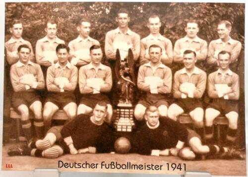 Fan Big Card Edition F32 Rapid Wien Deutscher Fußball Meister 1941