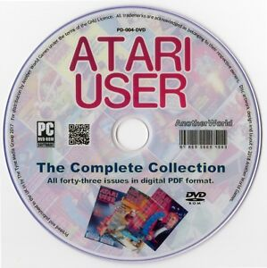 ATARI-USER-Magazine-Collection-on-Disk-ALL-ISSUES-XL-XE-400-800-2600-Games