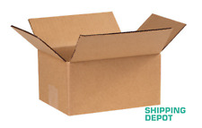 1 100 8x6x4 Corrugated Cardboard Packing Shipping Mailing Moving Carton Boxes
