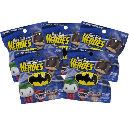 DC Series 1-5 Pack Lot Funko Pint Size Heroes Vinyl Figure New