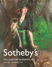 Sotheby's NO8121 19th C. European Art Auction Catalog 2005