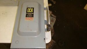 d223n 100-amp 240-volt two-pole indoor general duty fusible safety switch with