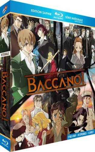 2 Blu-ray OAVs Edition Saphir ★ Intégrale ★ Baccano