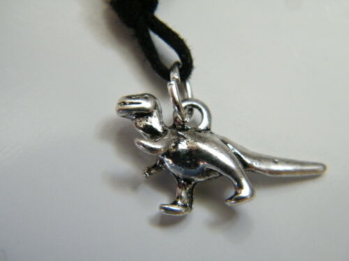 "15/"" 28/"" NEW! T-Rex DINOSAUR Necklace Tibet Silver Charm Choker Childrens Size"