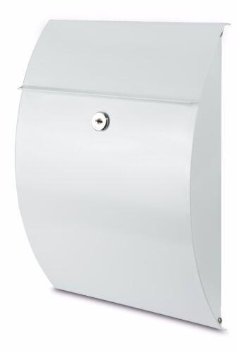 BURG WÄCHTER Briefkasten Capri 813 Weiß