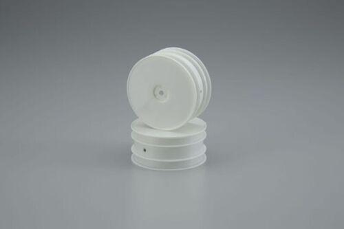 W5201W weiß Kyosho Dish Felgen vorne für Lazer ZX5 // ZX6