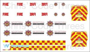 Code 3 Adhesive Vinyl Decal Suit Oxford Diecast 1//76 South Central Ambulance