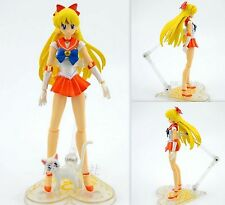 Sailor moon sailor venus Aino Minako Anime Manga Figuren Set H:15cm Neu