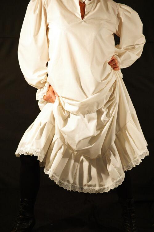 Steampunk-victorian-edwardian-cosplay-larp-frilled Petticoat Petticoat Petticoat alle Größen | Bekannt für seine hervorragende Qualität  | Stabile Qualität  | Vorzugspreis  4adc0c
