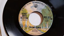 """GEORGE BAKER SELECTION - Paloma Blanca / Dreamboat 1975 POP SCHLAGER 7"""""""