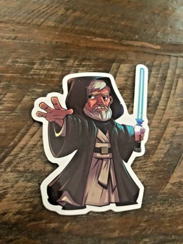 Styles Star Wars Character Stickers Custom Cartoon Solo Vader Yoda Boba New 90