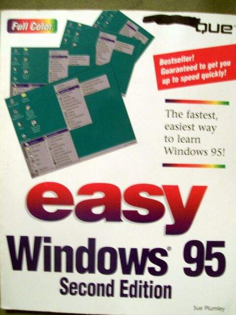 Easy Windows 95 Second Edition by Sue Plumley (1997, Paperback)