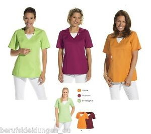 Ärzte- & Schwesternkleidung Ärztebedarf Leiber® Schlupfjacke T-shirt Kasack Schwesternkittel Praxis-kittel 08 2517 Polo Geschickte Herstellung