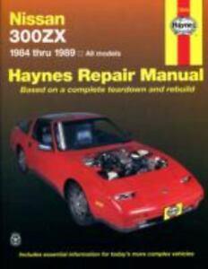 haynes manuals nissan 300zx 1984 1989 no 1137 by john haynes and rh ebay com nissan 300zx service manual nissan 300zx shop manual