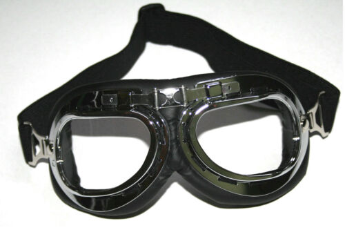Fliegerbrille Pilotenbrille für EMW AWO MZ ES Simson S51 SR2 Dnepr Ural M72 K750