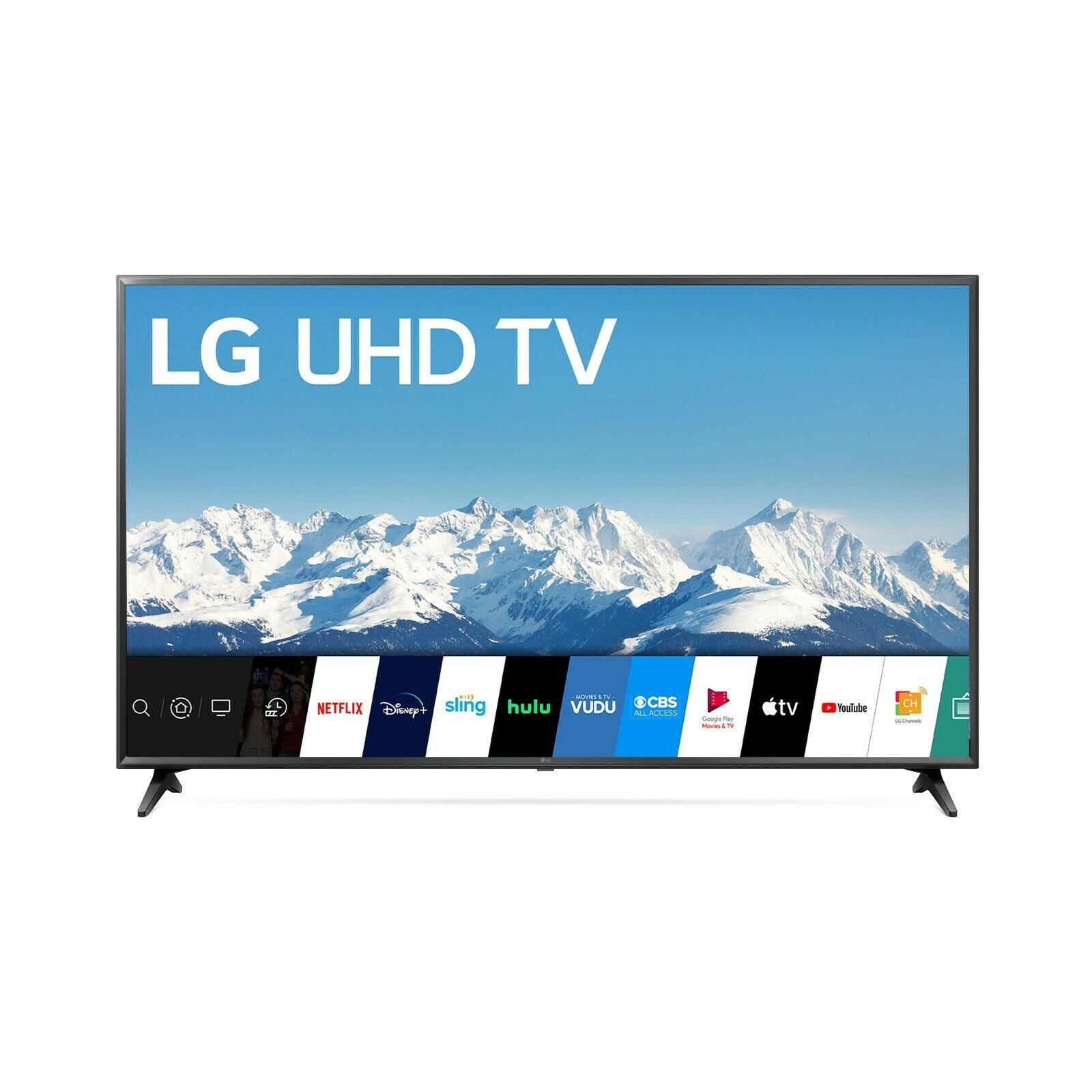 LG 65 Class Quad Core 4K LED UHD 2160P HDR Smart TV  (2020 Model) Black Friday. Available Now for 639.98