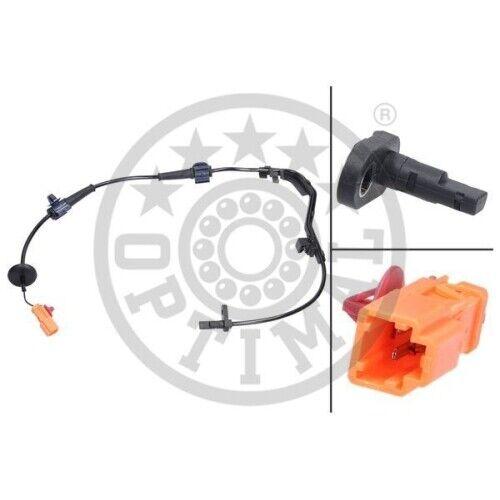 ABS Sensor Drehzahlfühler Raddrehzahlfühler OPTIMAL 06-S493 Hinterachse links