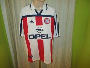 Fc-Bayern-Munich-original-adidas-hacia-afuera-camiseta-2000-2002-034-Opel-034-talla-XXL