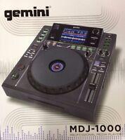 Gemini Mdj-1000 Professional Media Dj Controller With Lcd Screen