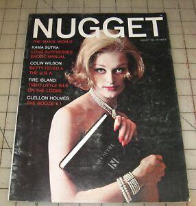 NUGGET-August-1962-Good-Condition-Men-039-s-Magazine
