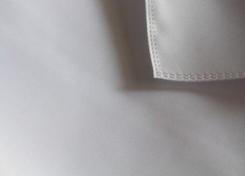 Tischdecke Weiß Gastronomie qualität Stoff Fleckschutz Eckig Tischwäsche