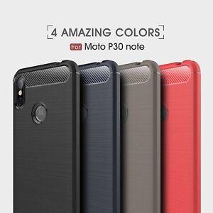 Pour-Motorola-Moto-P30-Note-One-Alimentation-P30-Play-Hybride-Robuste-Doux-De
