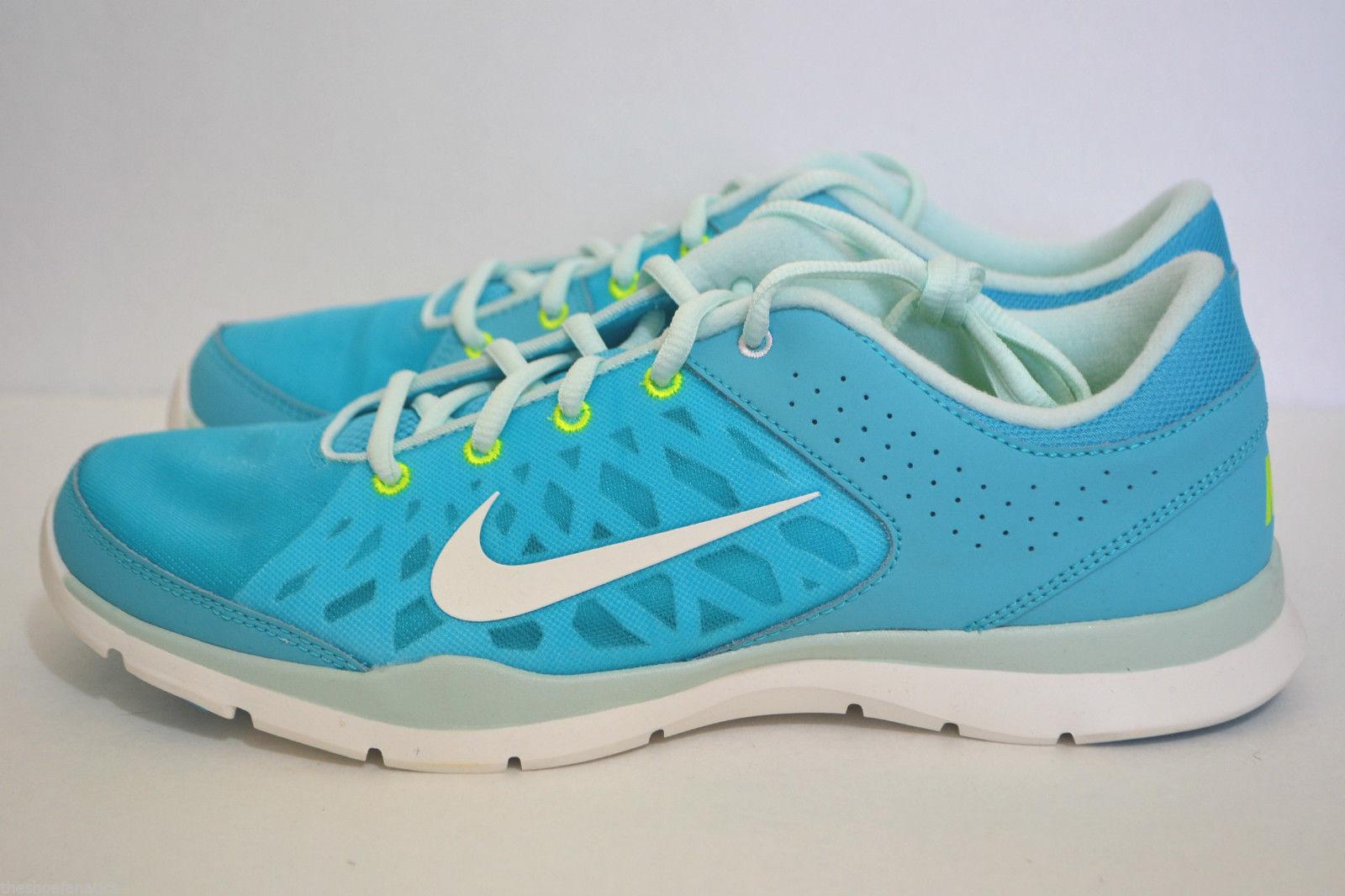 Nike Wmns Flex Trainer 3 Gamma Blau Trainers schuhe Größes UK- 4.5_5.5_7.5