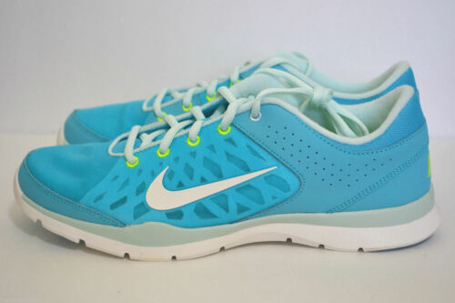 Nike Wmns Flex Trainer 3 Gamma Blue Zapatillas Zapatos Tamaños Reino Unido - 4.5 _ 5.5 _ 7.5