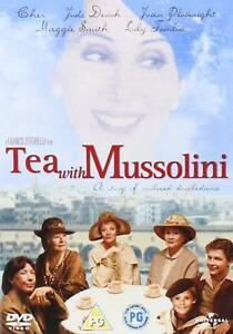 TEA-WITH-MUSSOLINI-1999-Region-4-DVD-Judi-Dench-Maggie-Smith
