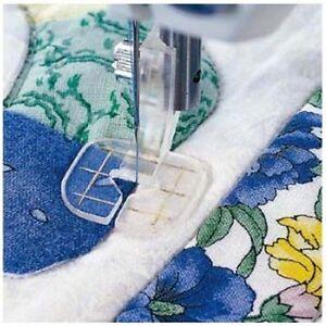 Husqvarna Viking Free Motion Clear Guide Sewing Presser Foot 4125764-45 Designer