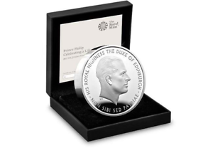 2017 Prince Philip 70 years of Service rarest ever Silver Proof Piedfort £5