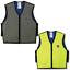 thumbnail 1 - Ergodyne Chill-Its 6665 Evaporative Cooling Vest, Lime/Gray, M-3XL