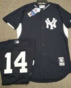 premium selection 6f710 6a2aa Details about STARLIN CASTRO YANKEES AUTHENTIC COOL BASE JERSEY SIZE 40  MEDIUM MAJESTIC