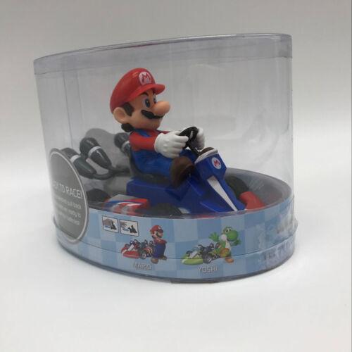 "2018 Super Mario Kart Mario Pull Back Racer PVC Figure Collectible Car Toy 5/"""