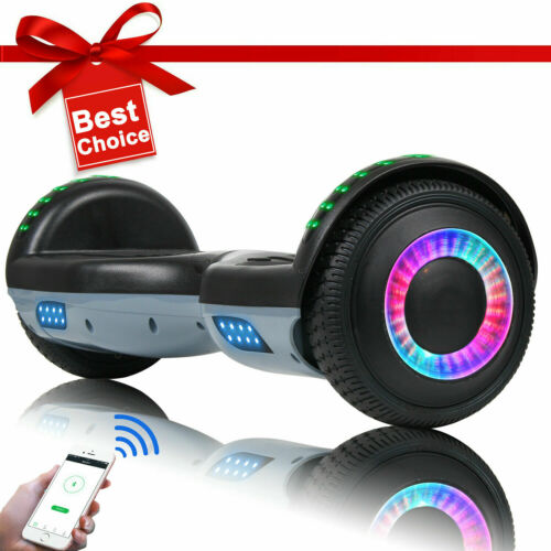 Bluetooth Hoverboard Self Balance Scooter Gray-Black NO Bag Electric Scooters