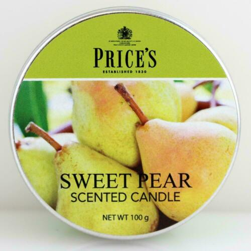 Price`s Patent Candles Limited Tin 100 g Sweet Pear