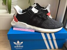 ADIDAS EQT BOOST 93/17 Nero SUPPORT Turbo UK 9 US 9.5 BB1234