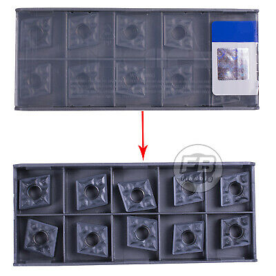 100Pcs CNMG120408-TF IC907 CNMG432-TF CNC Carbide Inserts