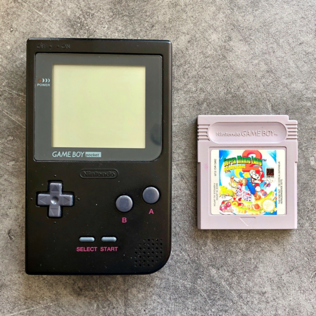 Nintendo Gameboy Pocket, God, *** SOLGT ***  GameBoy'en er…