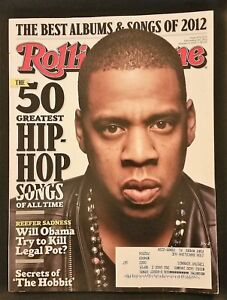 Details about Rolling Stone Magazine December 20, 2012 - Jay-Z - 50  Greatest Hip Hop Songs