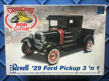 Revell 1/25 scale '29 Ford Pickup 3 in 1 plastic scale model car kit