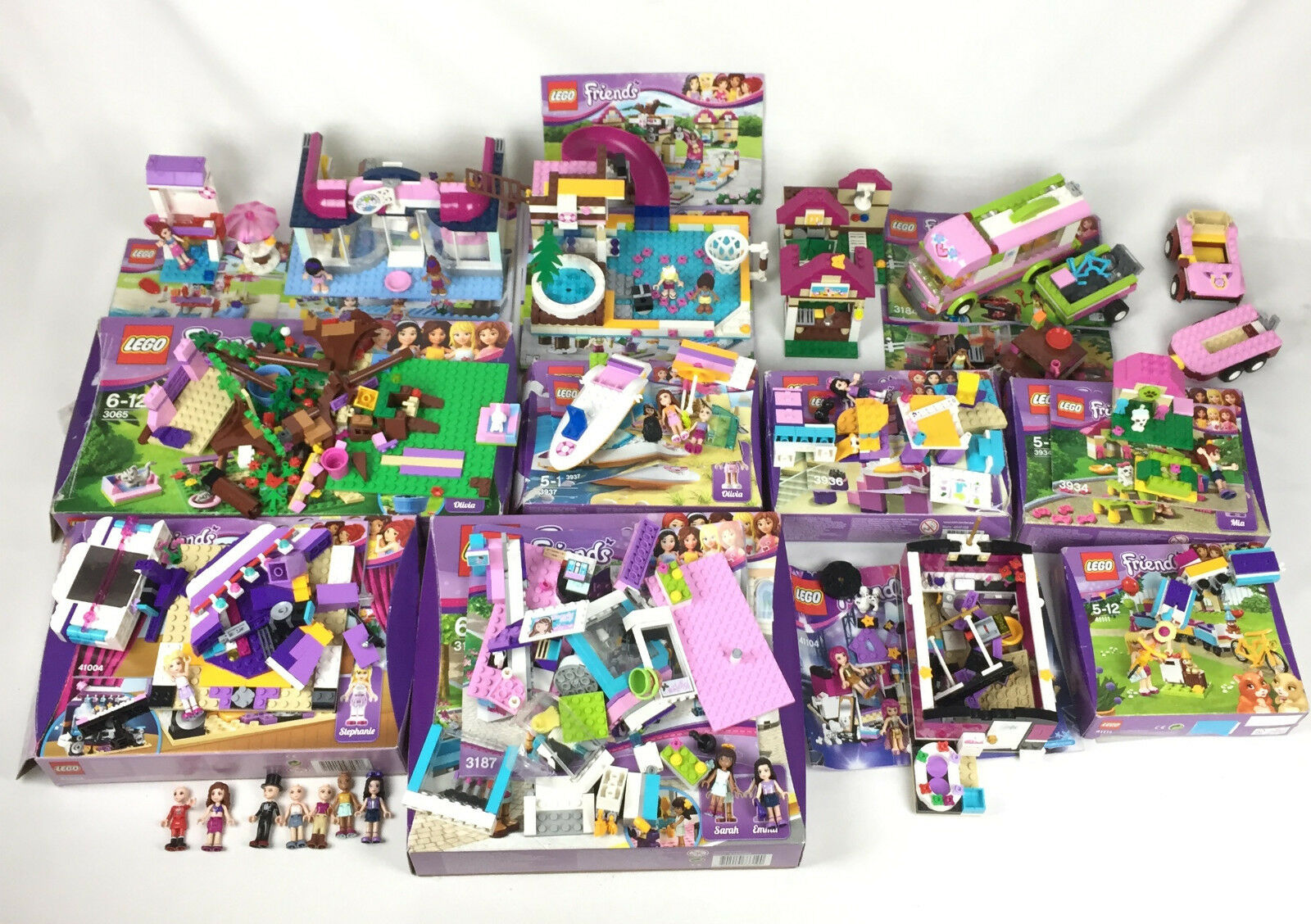 Gros Gros Gros Lot Lego Friends Vrac 41007 41008 3184 3065 3937 3936 3934 41004 Incomplet 77c20f