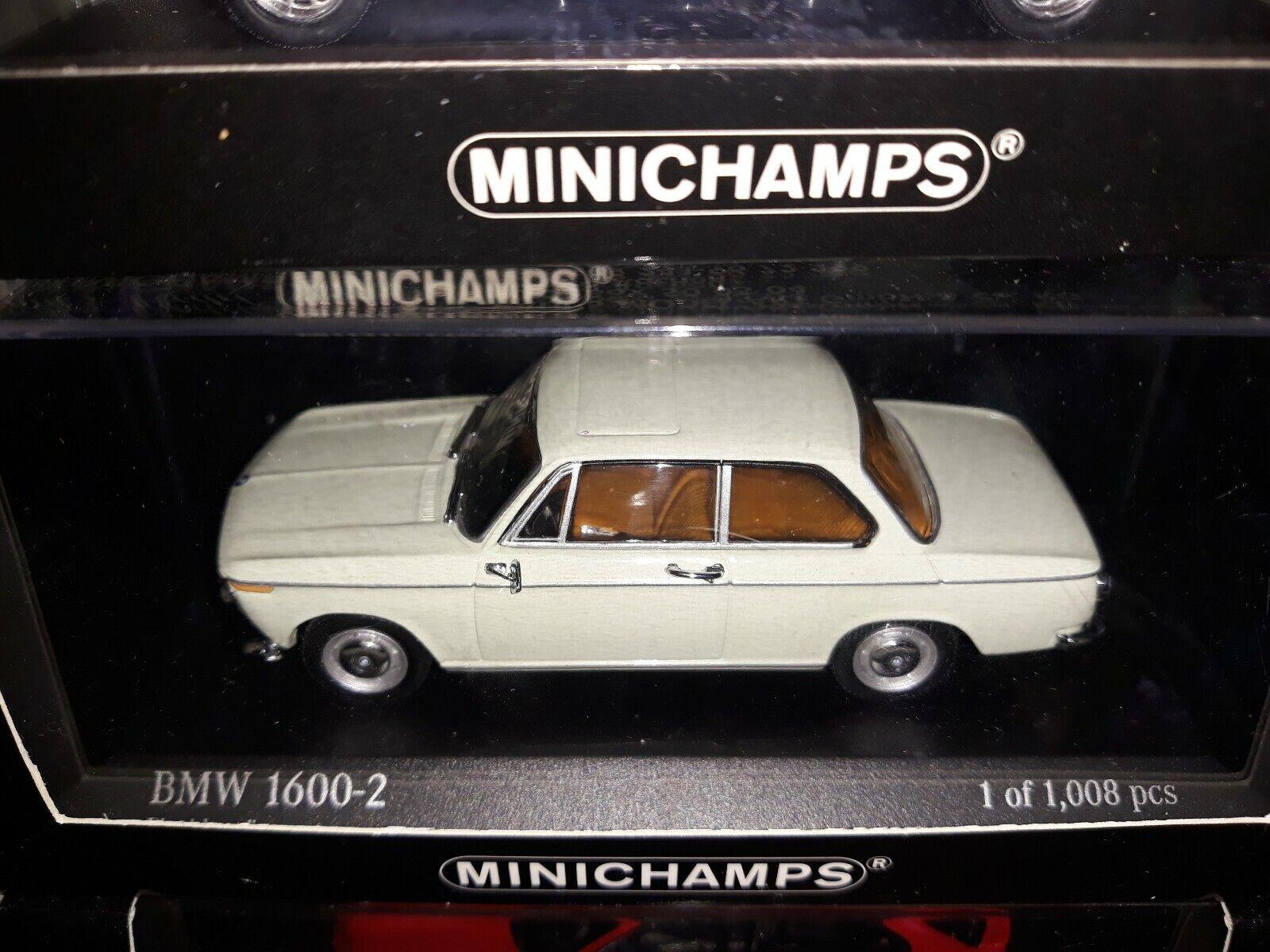 Minichamps 1 43 BMW 1600-2 1966 floridagrun