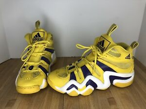 16488ed3cd39bb Image is loading Adidas-Crazy-8-Lakers-Edition-Yellow-Purple-White-