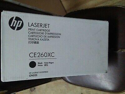 CE260X 649X Genuine HP High Yield Black Toner Color laserjet CP4525DN 4525N !